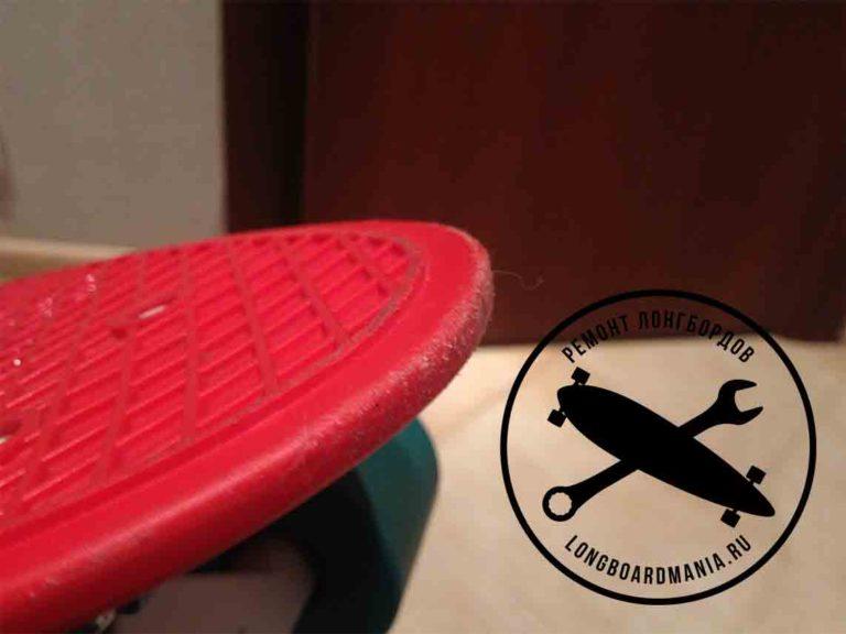 Penny board удаление царапин и полировка пластика