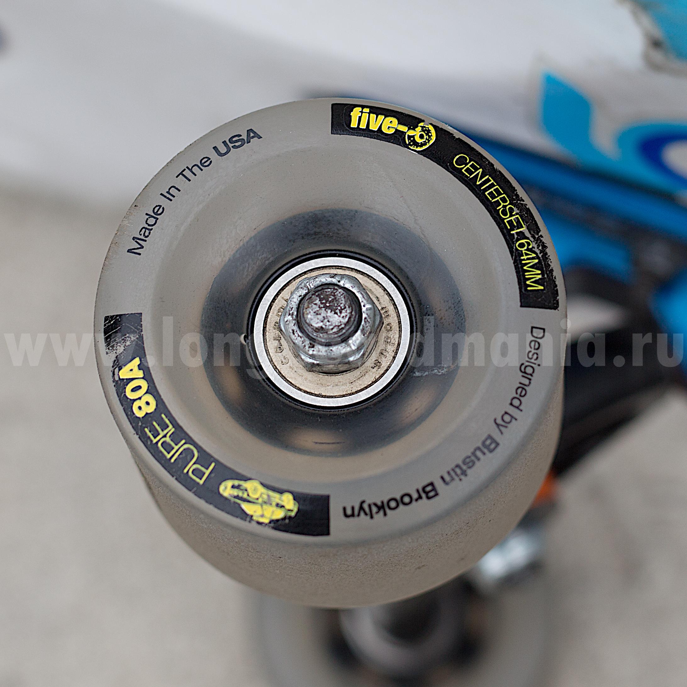 """Bustin - Five-O Wheels"" - longboardmania.ru"