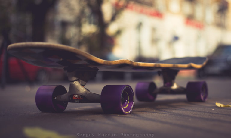 Гибридный скейт для пампинга Loaded -Khanthaka с подвеской Carver CX