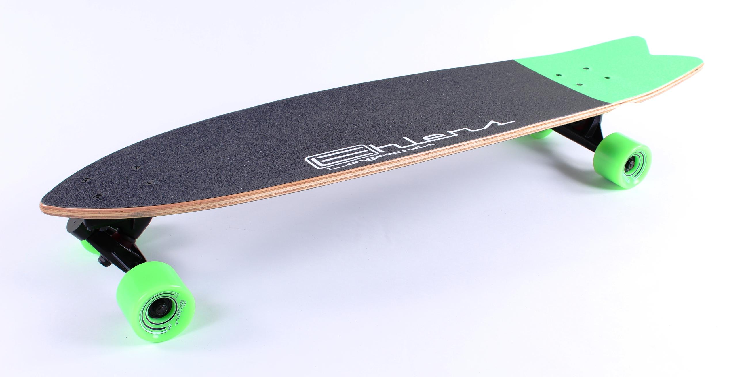 Скейт рыбка лонгборд форма деки фиш теил Fish Tail