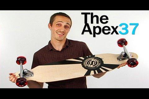 На фото Скот Имбри (Scott Imbrie) Сооснователь Original Skateboards и первая модель Apex 37